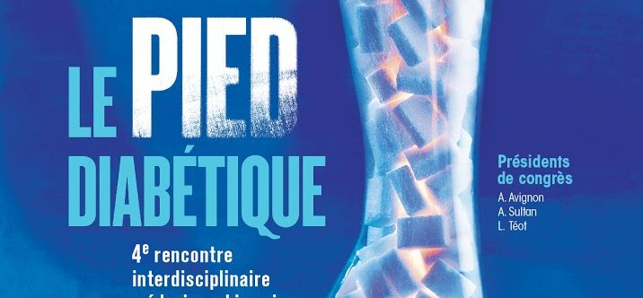 Participation au congrès du pied diabétique à Montpellier